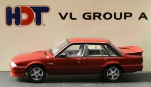 1:43 Biante : 1986 Holden VL Commodore SS Group A  HDT Permanent Red Limited Ed