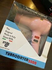 *** BRAND NEW & BOXED ETI TURBODRYER 2000 PROFESSIONAL HAIR DRYER PINK ***
