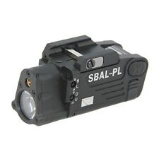 Tactical SBAL-PL White Light LED Weapon Light With Red Laser Dual Beam Aiming