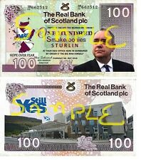 Special Edition Novelty Scottish National Smakeroonies Bank Notes