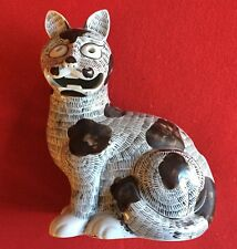 Vintage Nelson Rockefeller Mottahedeh Chinese Porcelain Cat Night Lamp Figure