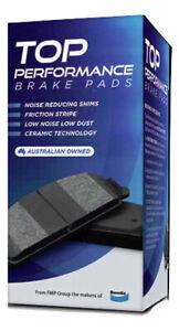 Front Disc Brake Pads TP by Bendix DB321TP for Nissan Patrol Ford Maverick