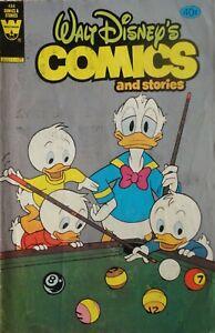 whitman Walt Disney's Comics & Stories: 484 price error variant, + 487- 489