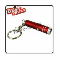 Mini 1 poche lampe de poche LED Lampe torche avec porte-clés + Batteries