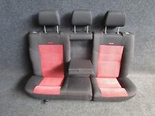 RECARO Rücksitzbank VW Golf 4 4-türig Bora STOFF Ausstattung schwarz/rot