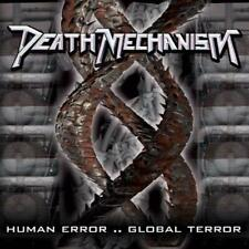 Death Mechanism - Human Error..Global Terror CD 2008 thrash Italy