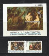 GUINEA ECUATORIAL. Año: 1993. Tema: GRANDES MAESTROS DE LA PINTURA.