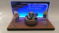 1 x Vintage Star Wars Max Rebo Display Stand / Diorama - LED Backlit