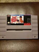 Super Bases Loaded (Super Nintendo SNES) Tested Working!