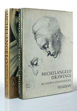 Michelangelo Drawings & Paintings by Ludwig Goldscheider