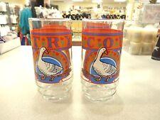 Vintage COUNTRY Goose Duck 16 Oz Iced Tea Lemonade Coolers Tumblers Glasses (7)