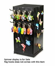 Metal Pegboard Counter Spinner Display 10 in. W x 10 in. D x 20 in. H