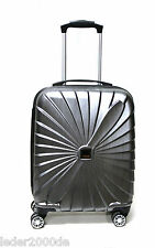 Titan Reise Koffer Triport 4 Rollen S Trolley anthrazit Grau Carbon 54 cm