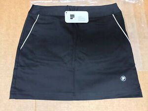 Pahr Skort Short Skirt Golf Tennis Black Size 2 NEW With Tags