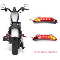 3in1 Led Rücklicht Blinker getönt Universal Motorrad Für Harley Davidson 883 120