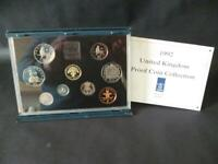 1992 ROYAL MINT PROOF COIN SET HOUSED IN ROYAL MINT BLUE CASE INCLUDES EEC 50P