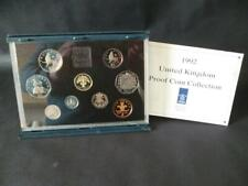 More details for 1992 royal mint proof coin set housed in royal mint blue case includes eec 50p