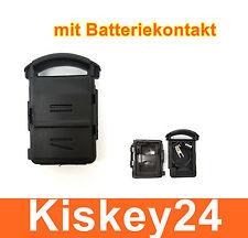 2T boîtier Clé avec contact Batterie pour Opel Corsa C + MERIVA A + Tigre B