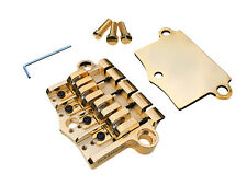 Babicz FCH Gibson-style 3 Point, 4 String Bass Bridge, Gold  *4TH OF JULY SALE*