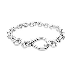 Original PANDORA Starterset Armband & Damen Armband für Charms in 925 Silber