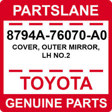 8794A-76070-A0 Toyota OEM Genuine COVER, OUTER MIRROR, LH NO.2
