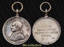 Médaille Papale. LEO XIII° MERCES OPERARIORUM CLAMAT IN AURES DOM. 1892. Silver