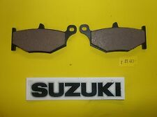 27-319 Suzuki Rear Brake Pad for 06-10 GSXR 600 14-15 V-Storm Adv 419