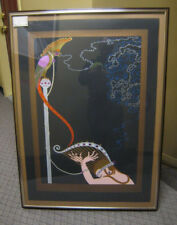 ERTE Enchanted Melody AP 30/50 Signed Serigraph FRAMED