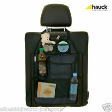 New Hauck Car Front Seat/Back Rest Cover Large Organiser- Cover Me Deluxe