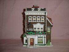 """Dept 56 Dicken's Village """"Crown & Cricket Inn"""" - issued 1992 - retired 1992"""
