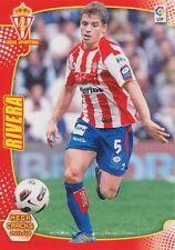 N°299 ALBERTO RIVERA PIZARRO # SPORTING GIJON CARD PANINI MEGA CRACKS LIGA 2012