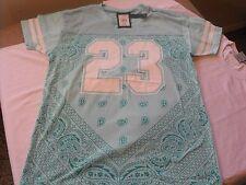 Medium Victorious mint green bandana 23 urban, chicano, Low Rider t-shirt.