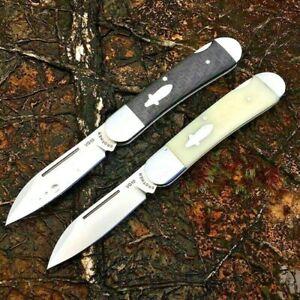 Sheepsfoot Folding Knife Pocket Hunting Wild Survival Tactical Combat VG10 Steel