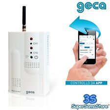 3S ATTIVATORE GSM APPARECCHIATURE ELETTRICHE GECA SMS o APPLICAZIONE SMART PHONE