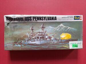 USS Pennsylvania, WW2 battleship, 1/720 scale plastic model kit, Revell