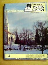 Partitions 28 morceaux Christmas Easy play speed music orgue piano guitare /Z67