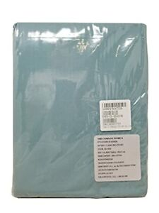 The Company Store Sea Side Classic Percale Fitted Sheet Cal King 72x84in