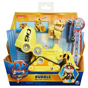 Rubble Paw Patrol The Movie Deluxe Vehicle
