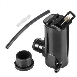 Windshield Washer Pump For Hyundai Kia Mazda Subaru Ford Falcon with Grommet