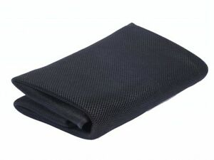 Black Sandwich mesh cloth Audio Fabric Decorate Dust-Proof Speaker Grill Cloth