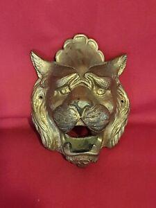 Tête de lion en fonte époque fin XIX ème s