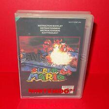 VINTAGE 1996 NINTENDO 64 N64 SUPER MARIO 64 CARTRIDGE VIDEO GAME PAL + CASE