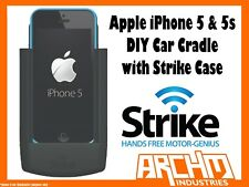 STRIKE ALPHA APPLE IPHONE 5 & 5s CAR CRADLE WITH STRIKE CASE DIY - FAST CHARGER