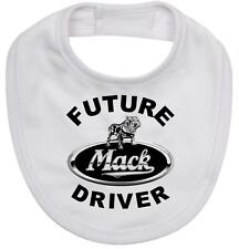 Mack Truck baby bib Future Mack Driver on new cotton newborn bib