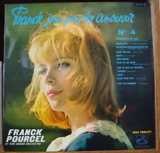 FRANCK JOUE POUR LES AMOUREUX CHEESECAKE COVER RARE ORIG FRENCH LP 1963