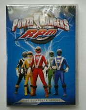 Power Rangers RPM The Complete Series (DVD, Shout, 4-Disc Set) Animation/Action