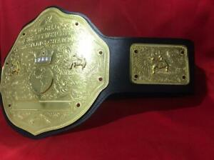 WWE WORLD HEAVYWEIGHT BIG GOLD CHAMPIONSHIP REPLICA BELT 2MM BRASS ADULT SIZE
