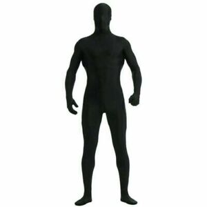 Party Costume Dress Invisible Morph Suit Adults Kids Full Body Spandex Jumpsuit