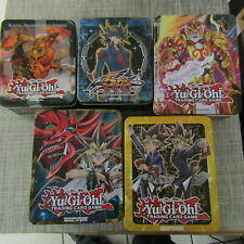 YUGIOH COLLECTIBLE TIN 2009, 20013 & MEGA-TIN 2014, 2016, 2017 - BOX ONLY! 5990