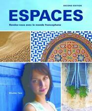 Espaces -Workbook/Video Man.+Lab.Man., Brand New, Free shipping in the Us